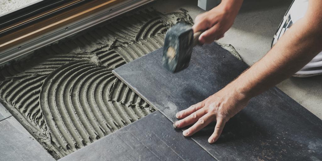Fix Loose Or Broken Ceramic Floor Tiles
